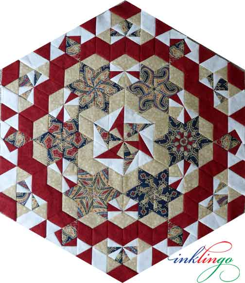 The Case of the Diamond Necklace COTDN mystery quilt
