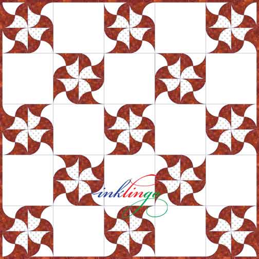 Clamshell Quilt variations