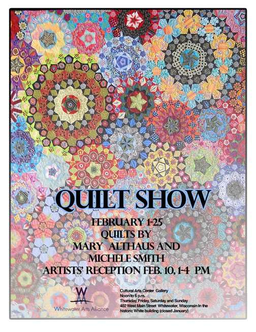 Mary Quilt Show Poster