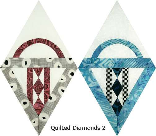 Quilted Diamonds 2 # 27 basket