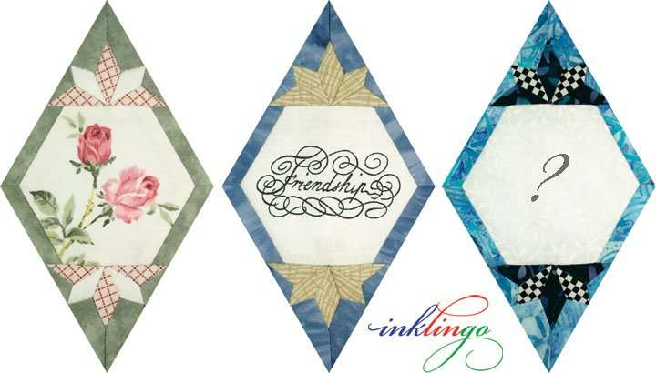 Quilted Diamonds 2 # 45