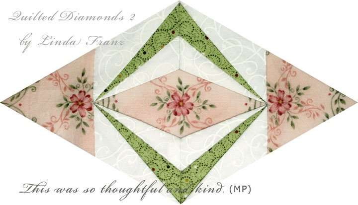 Quilted Diamonds 2 # 100