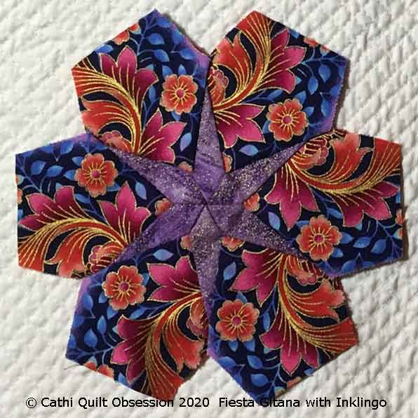 Fiesta Gitana with Inklingo by Cathi Quilt Obsession