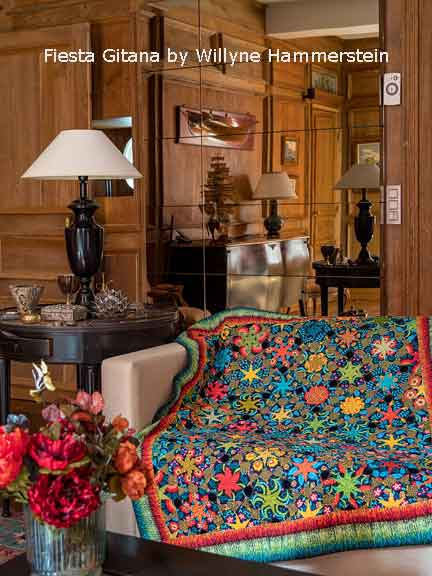 NEW Fiesta Gitana from Millefiori Quilts 4 in Two Sizes