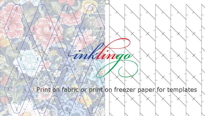 Print on fabric or paper with Inklingo