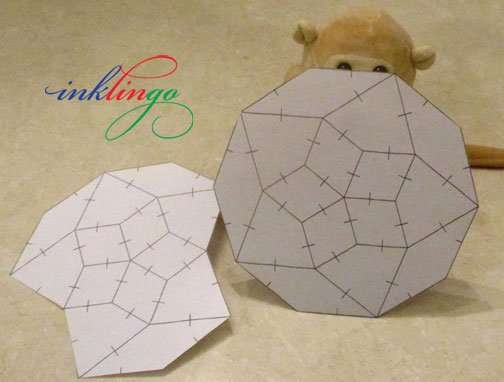Print quilt templates with Inklingo