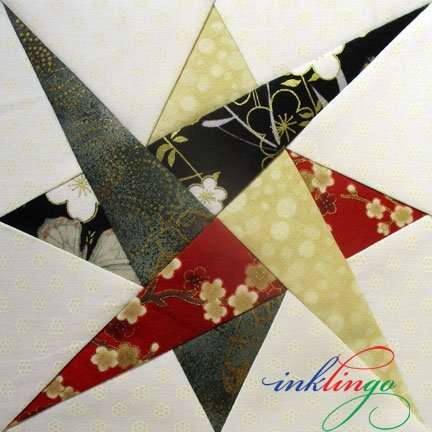 Starry Path 6 inch templates