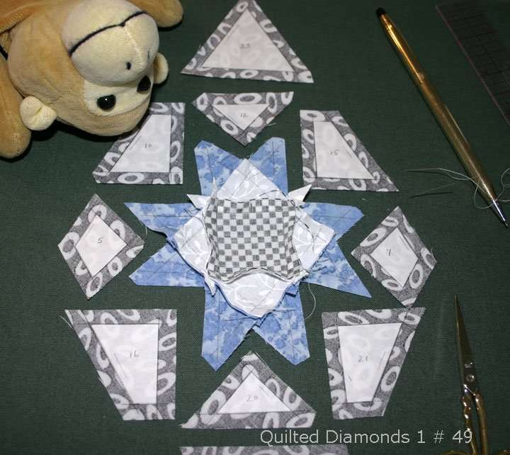 Quilted Diamonds 1 # 49