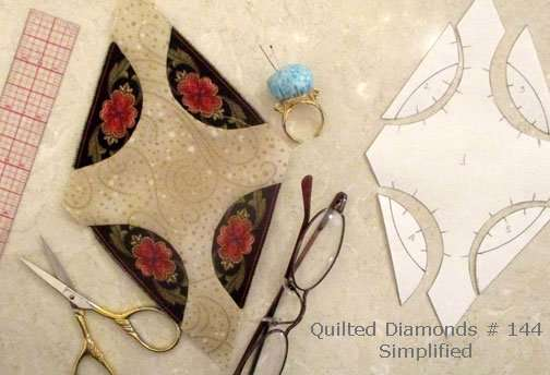 Simplify Quilted Diamonds