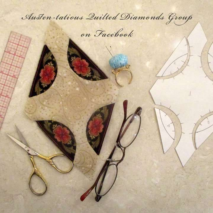 Austen-tatious Quilted Diamonds Group