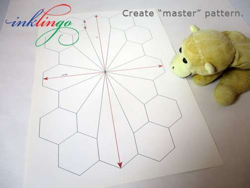 pattern for dodecagon shapes