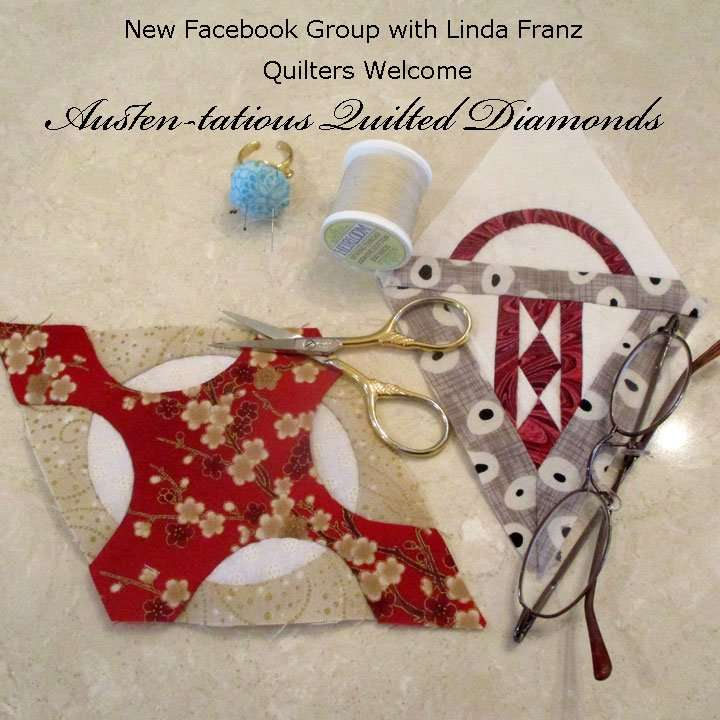 Quilted Diamonds on Facebook