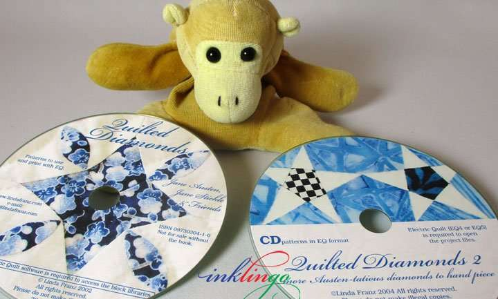 Quilted Diamonds CDs for EQ