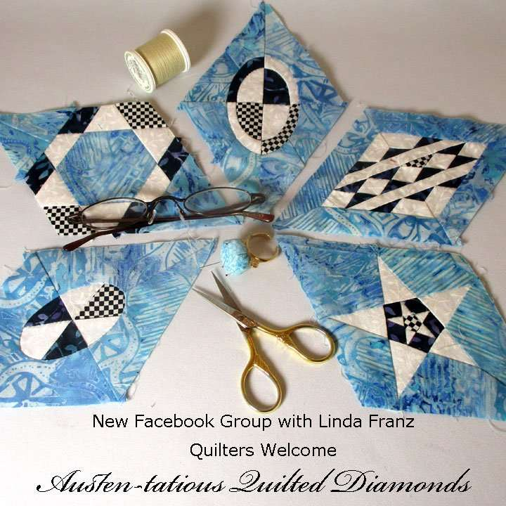 Austen-tatious Quilted Diamonds Group on Facebook