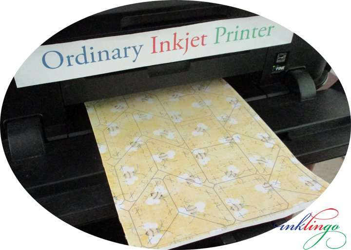 Print on fabric with your Inkjet