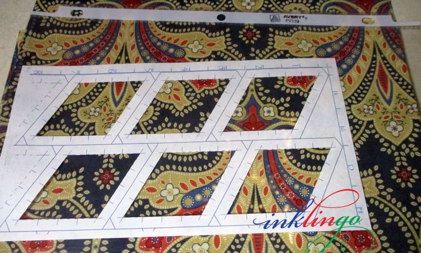 Fabric for fussy cut quilt patterns