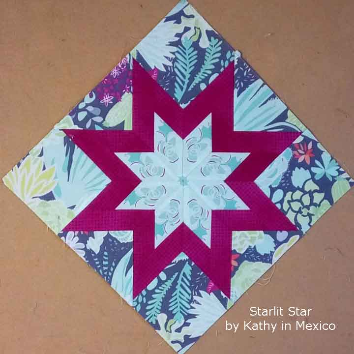 Starlit Star by Kathy in Mexico