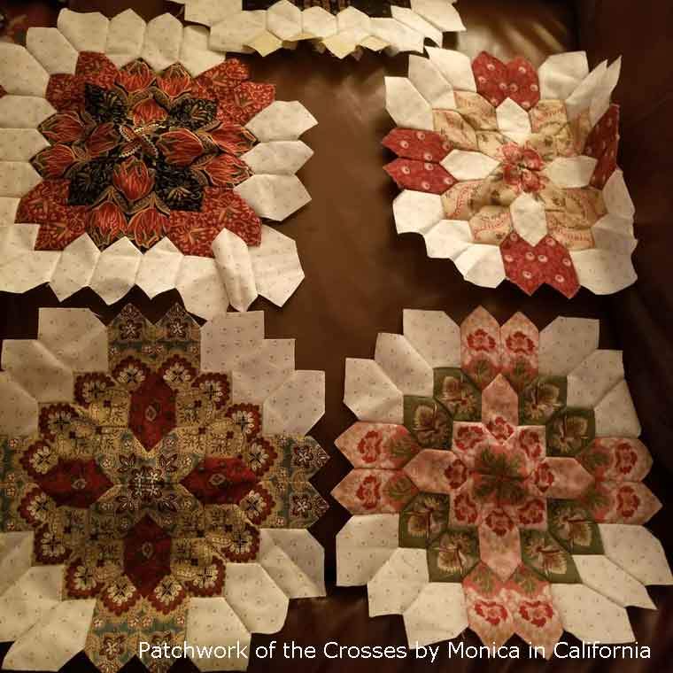 Patchwork of the Crosses by Monica in California