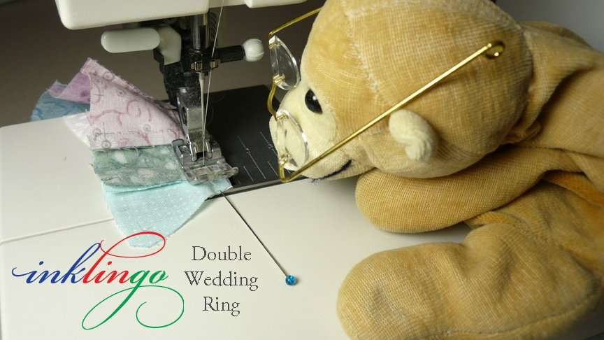Sew Double Wedding Ring Quilt Pattern by machine or by hand