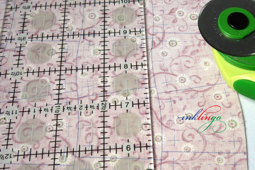 Double Wedding Ring Quilt Pattern shapes