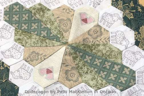 Dodecagon by Patti in Ontario