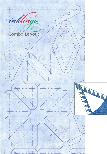 Inklingo Combo Layout Pine Cone A C D
