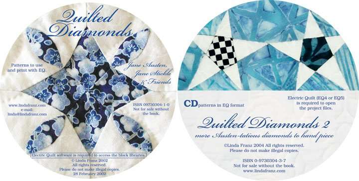 Optional CDs for Quilted Diamonds