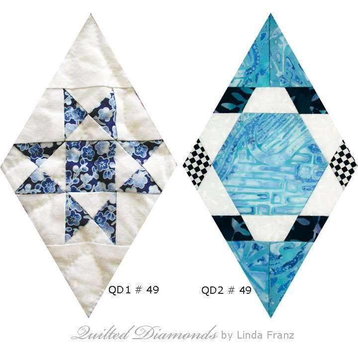 Quilted Diamonds # 49