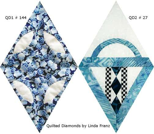 Quilted Diamonds Quilt-Along 001