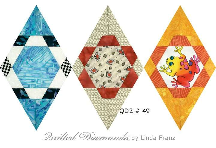 Quilted Diamonds 2 # 49