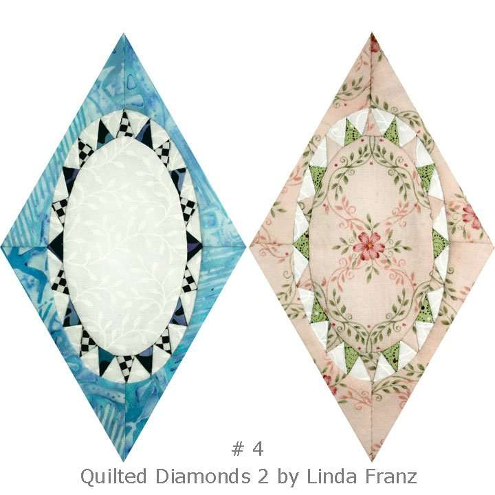 Quilted Diamonds 2 # 4