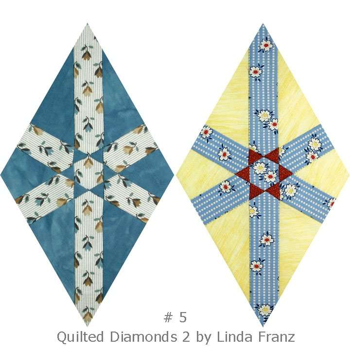 Quilted Diamonds 2 # 5