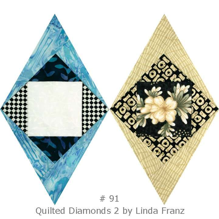 Quilted Diamonds 2 # 91