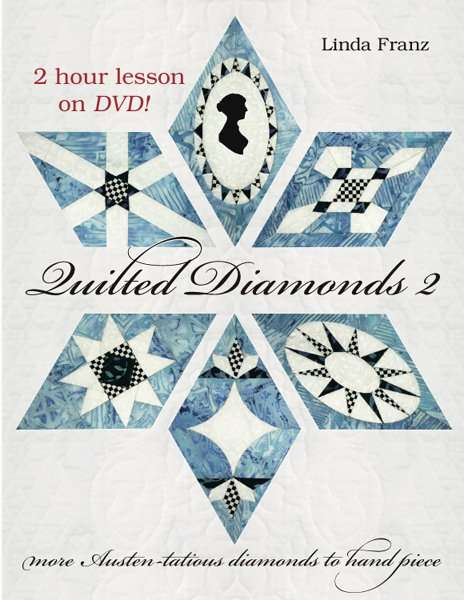 Quilted Diamonds 2 with DVD lesson