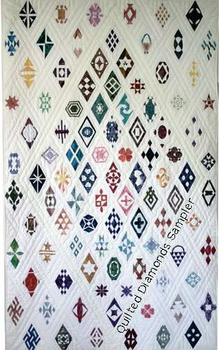 Quilted Diamonds 2 Sampler Quilt