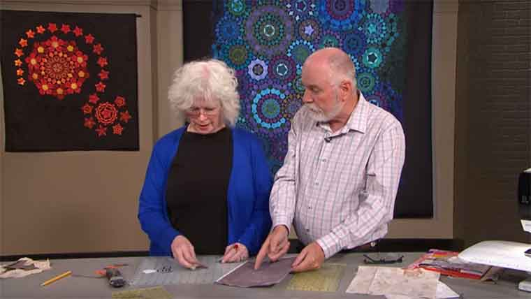 Inklingo on The Quilt Show