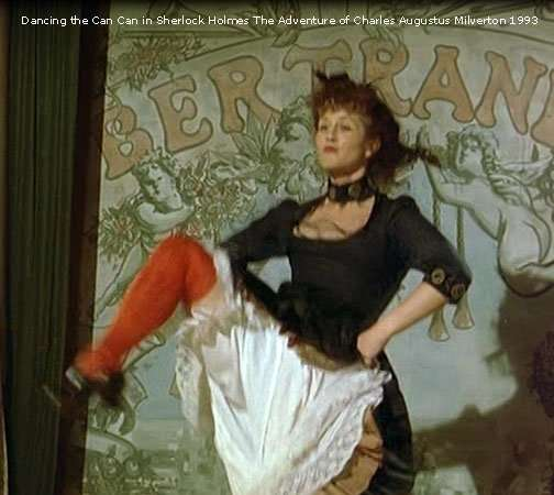 Doing the CanCan