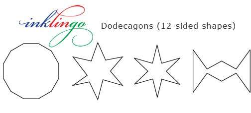 Examples of Dodecagons