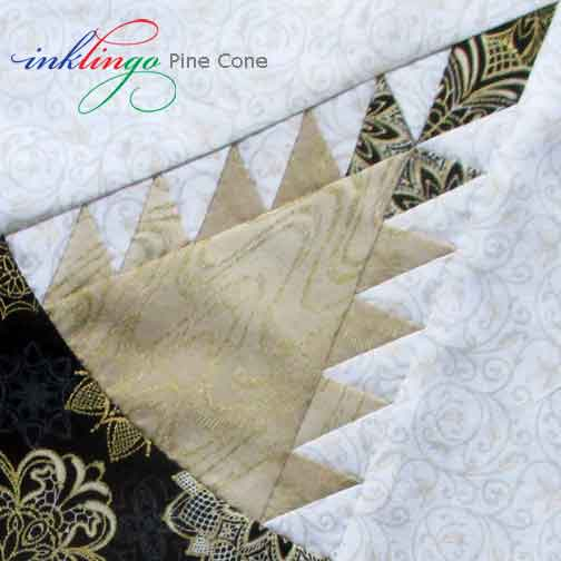 Pine Cone Quilt NEW Templates