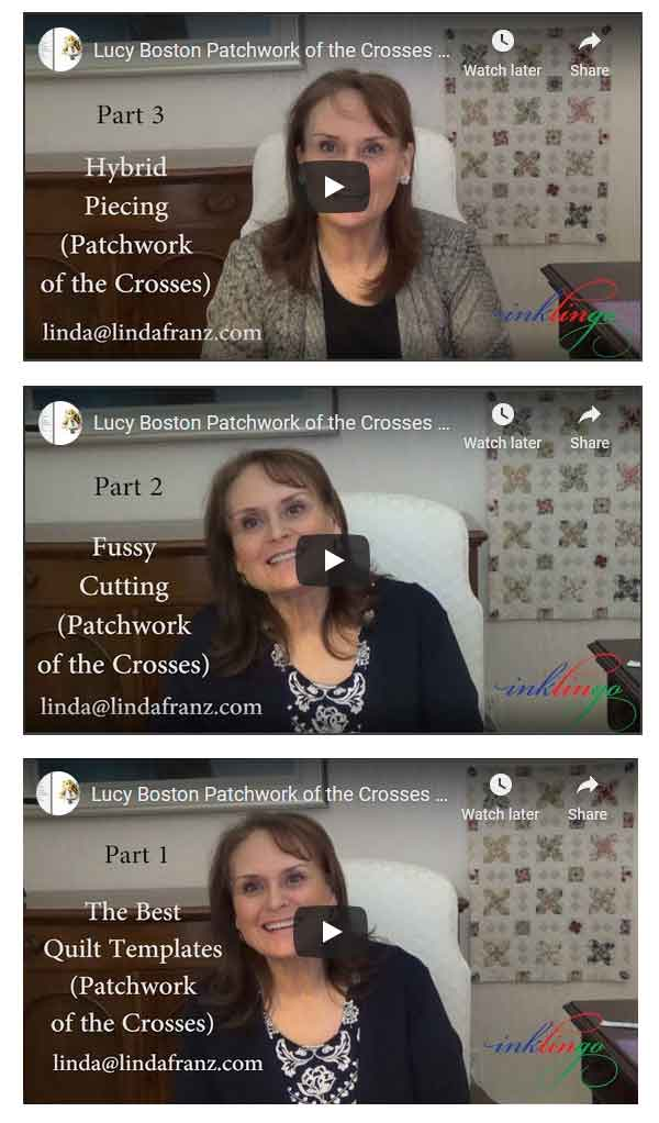 Videos Lucy Boston Patchwork of the Crosses