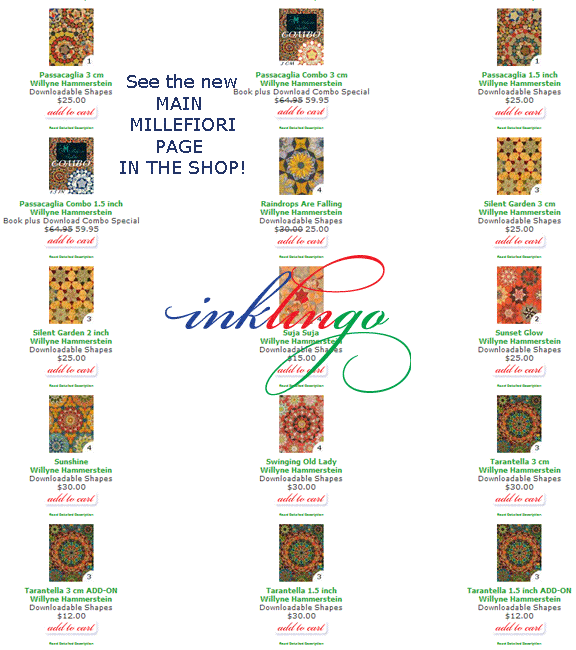 See the Main Millefiori Page