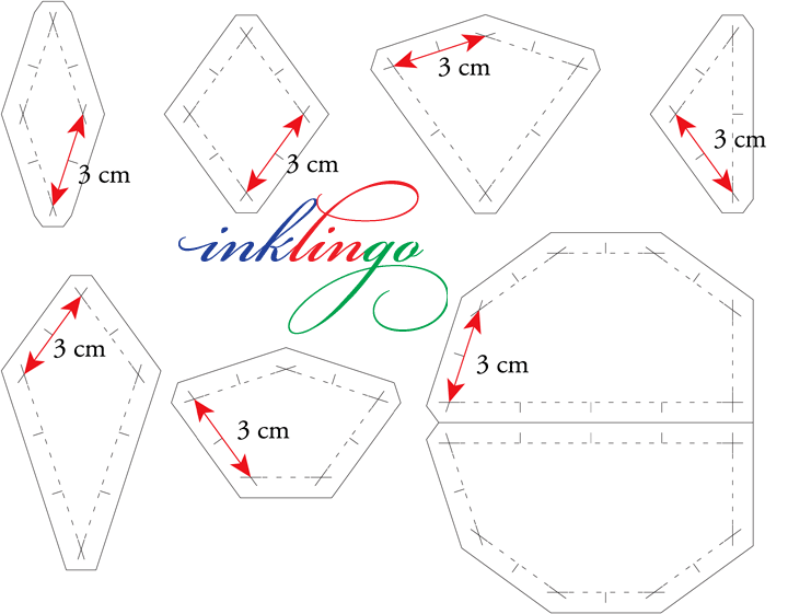 Templates for Swinging Old Lady Quilt