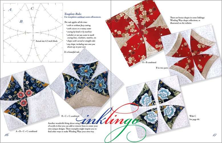 Winding Ways by Linda Franz sample pages